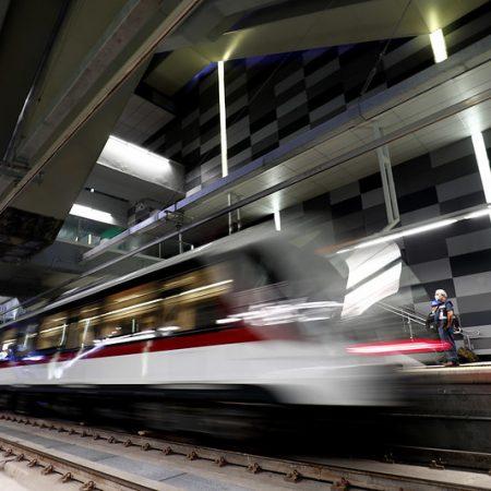 Inauguran Enrique Alfaro y AMLO la Línea 3 de Mi Tren