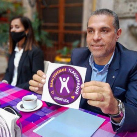Hugo Villavicencio, promueve la reactivación y consumo local en Tlaquepaque