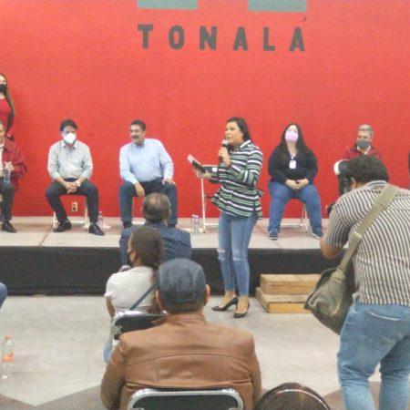 Unidad priísta en Tonalá
