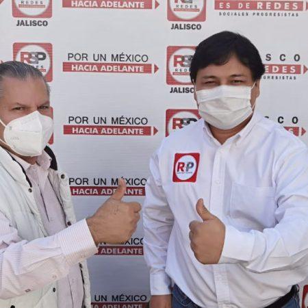 Martín López Cedillo se une al Partido RSP, buscará el Distrito 11 local