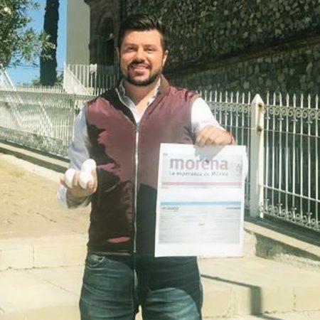 Se registra el activista Christian Fernando López, como precandidato a la presidencia de El Salto, por MORENA