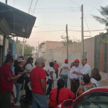 Al menos 25 Colonias de Zapopan están en completo abandono, lo que recrudece la inseguridad: Polo Leal, candidato de RSP a la presidencia municipal.
