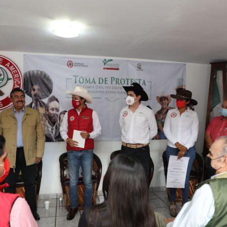 """""""Cuando la juventud se activa, el cambio es inevitable, ya que en la juventud está el cambio"""": Manuel Carrillo, nuevo dirigente de la Vanguardia Juvenil Agrarista en Jalisco"""